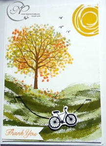 Bike and sheltering tree