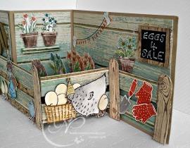 Shelf and potplants